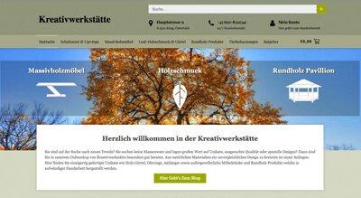 Der Online Shop kreativwerkstaette.com